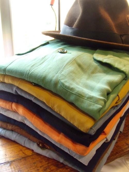 ギャバシャツが沢山入荷したので紹介します。from Kadota