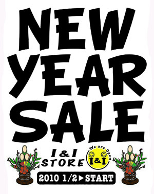 NEW YEAR SALE!! from i&i
