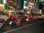 サンタはバイクに乗ってやってきた。 from Mori