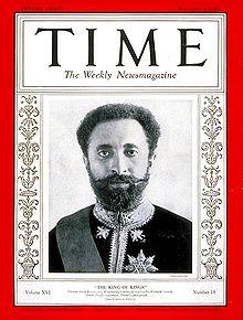 Happy Birthday ! Haile Selassie I ! from Kadota