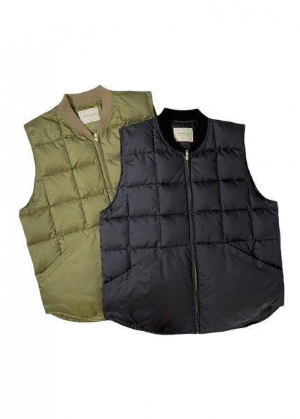 Comfortable Reason Ripstop Down Vest